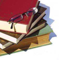 Study - Books and Glasses